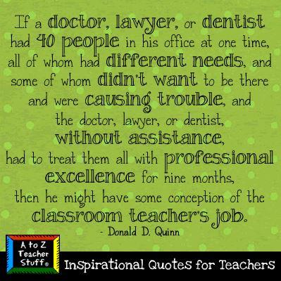Doctor vs teacher