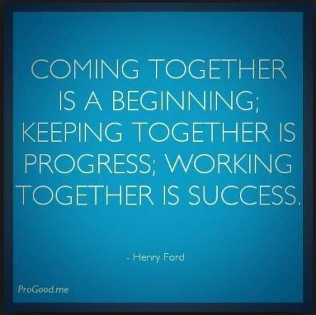 Together begin success