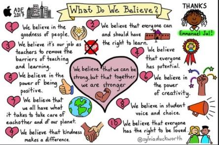 We Believe by Sylvia Duckworth