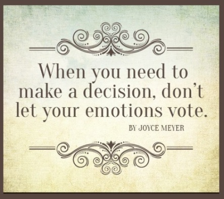 Emotions no vote decisions