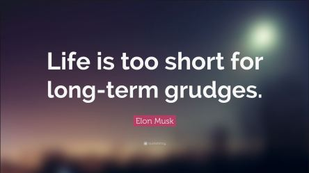 Long term grudges