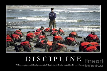 Discipline sufficiently motivated
