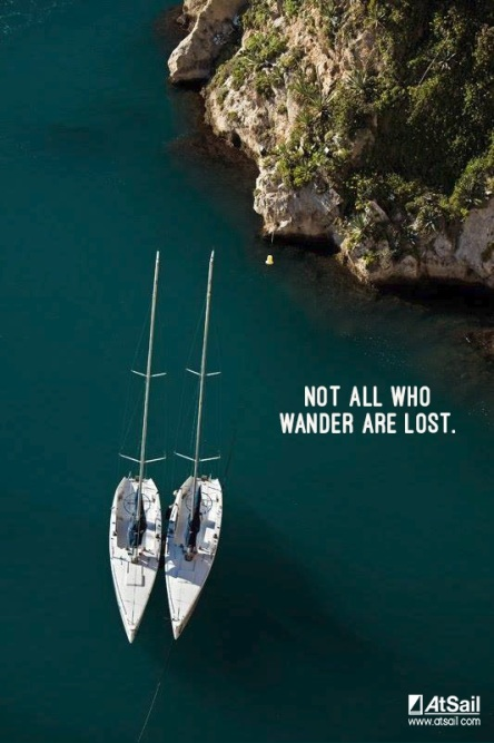 Not all wander lost