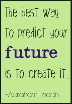 Predict future by creating it