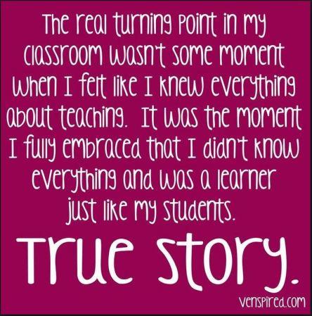 True story teacher turning point